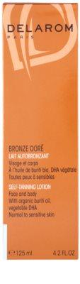 Delarom Bronze Doré lotiune autobronzanta pentru fata si corp 2