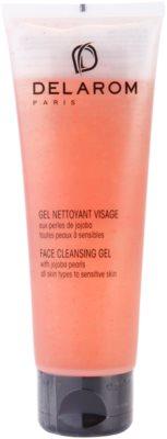 Delarom Cleaning and Removing gel limpiador facial con perlas de jojoba