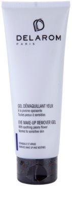 Delarom Cleaning and Removing gel za odstranjevanje ličil za oči z mehčalno potoniko