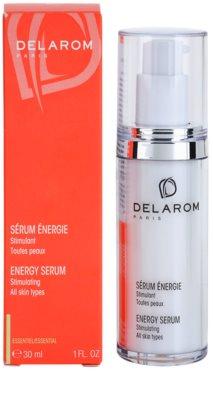 Delarom Essential ser pentru stimularea vitalitatii pielii 2