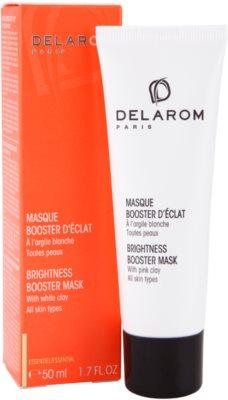 Delarom Essential aufhellende Maske für die Haut mit weißem Ton 2
