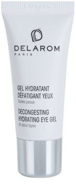 Delarom Moisturizing gel hidratante calmante para olhos