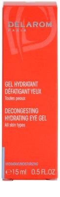 Delarom Moisturizing gel calmant si hidratant pentru ochi 2