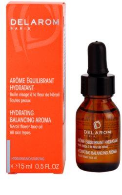 Delarom Moisturizing óleo corporal hidratante com aroma de Neroli 1