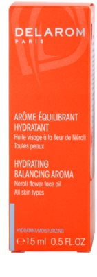 Delarom Moisturizing óleo corporal hidratante com aroma de Neroli 3