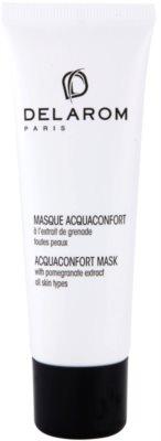 Delarom Moisturizing feuchtigkeitsspendende Gesichtsmaske mit Extrakten aus Granatapfel