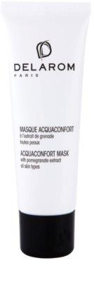 Delarom Moisturizing masca faciala hidratanta cu extract de rodie