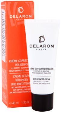 Delarom Anti Redness crema anti-roseata cu extract de nufar 2