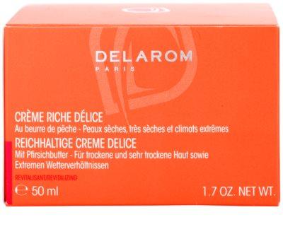 Delarom Revitalizing crema enriquecida con manteca de melocotón 4