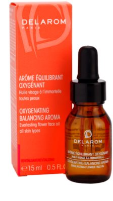 Delarom Revitalizing oxigenizáló aroma vasvirágos arcolaj 2