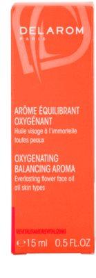Delarom Revitalizing oxigenizáló aroma vasvirágos arcolaj 3