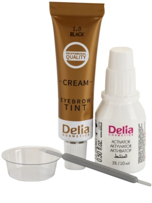 Delia Cosmetics Argan Oil farbka do brwi 2