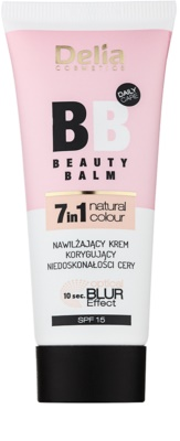 Delia Cosmetics Optical Blur Effect Beauty Balm BB Cream cu efect hidratant pentru ten cu imperfectiuni SPF 15