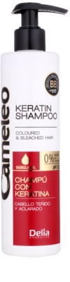 Delia Cosmetics Cameleo BB szampon keratynowy do włosów farbowanych i po balejażu