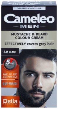 Delia Cosmetics Cameleo Men tinte para barba y bigote