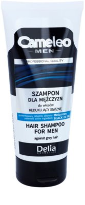 Delia Cosmetics Cameleo Men šampón proti šediveniu tmavých vlasov