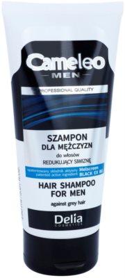 Delia Cosmetics Cameleo Men Shampoo to Prevent Dark Hair from Going Grey