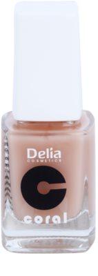 Delia Cosmetics Coral condicionador para unhas com ceramides