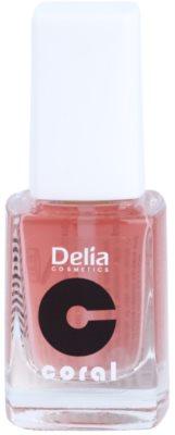 Delia Cosmetics Coral acondicionador para uñas  con calcio