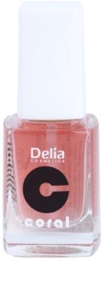 Delia Cosmetics Coral balzam za nohte s kalcijem
