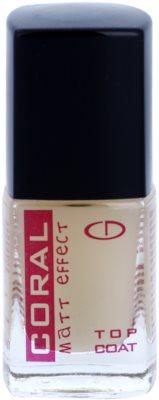 Delia Cosmetics Coral захисний топ з матовим ефектом покриття