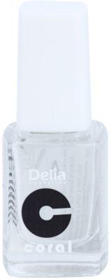 Delia Cosmetics Coral lak za učvrstitev nohtov z diamantnim prahom