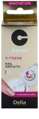 Delia Cosmetics Coral Lack zur Unterstützung des Nagelwachstums 2