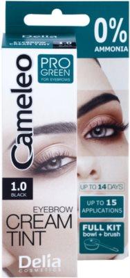 Delia Cosmetics Cameleo Pro Green tinte de cejas sin amoníaco