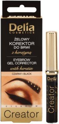 Delia Cosmetics Creator Augenbrauen-Gel 4 in 1 2
