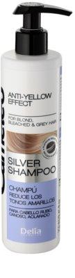 Delia Cosmetics Cameleo Silver sampon neutralizeaza tonurile de galben