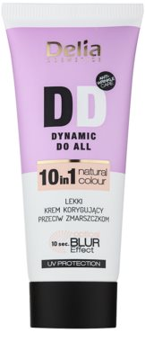 Delia Cosmetics Optical Blur Effect Dynamic Do All crema DD suave antiarrugas