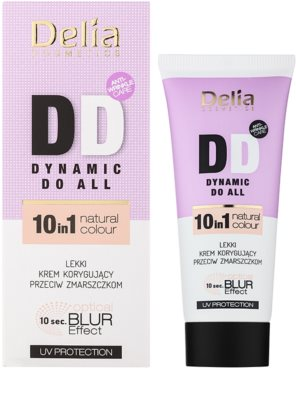 Delia Cosmetics Optical Blur Effect Dynamic Do All DD creme suave antirrugas 1