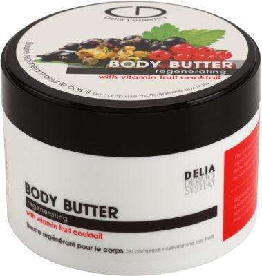Delia Cosmetics Dermo System manteca corporal para pieles muy secas