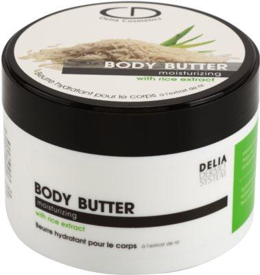 Delia Cosmetics Dermo System hydratačné telové maslo s extraktom z ryže