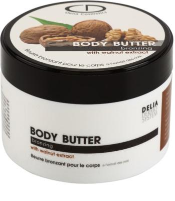 Delia Cosmetics Dermo System Selbstbräuner-Bodylotion mit Nussextrakt