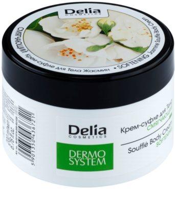Delia Cosmetics Dermo System zjemňující tělový krém s vůní jasmínu