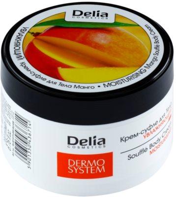 Delia Cosmetics Dermo System crema de corp hidratanta cu mango