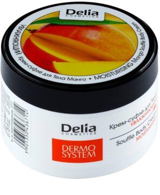 Delia Cosmetics Dermo System feuchtigkeitsspendende Bodycreme mit Mangoduft
