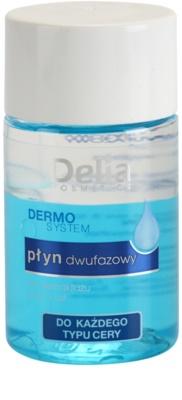Delia Cosmetics Dermo System 2-Phasen Abschminkwasser Für Lippen und Augenumgebung