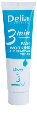 Delia Cosmetics Depilation Fast Working creme depilatório para pernas
