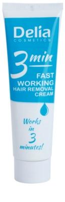 Delia Cosmetics Depilation Fast Working Enthaarungscreme für Füssen