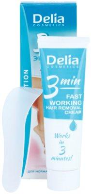 Delia Cosmetics Depilation Fast Working Enthaarungscreme für Füssen 1