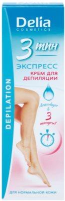 Delia Cosmetics Depilation Fast Working Enthaarungscreme für Füssen 2