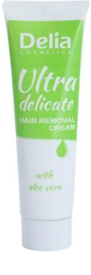 Delia Cosmetics Depilation Ultra-Delicate крем для депіляції для ніг