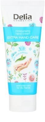 Delia Cosmetics Extra Hand Care feuchtigkeitsspendende Creme für die Hände mit Aloe Vera