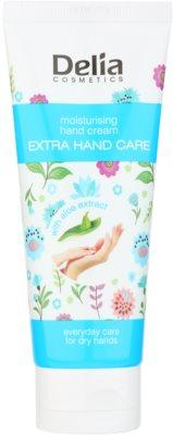 Delia Cosmetics Extra Hand Care hydratačný krém na ruky s aloe vera