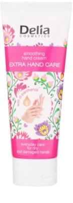 Delia Cosmetics Extra Hand Care crema alisadora para manos con d-pantenol