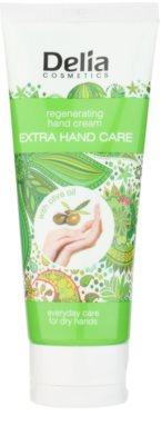 Delia Cosmetics Extra Hand Care crema de manos regeneradora con aceite de oliva