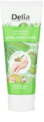 Delia Cosmetics Extra Hand Care regeneráló kézkrém olívaolajjal