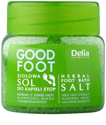 Delia Cosmetics Good Foot Gyógynövényes fürdősó a lábra